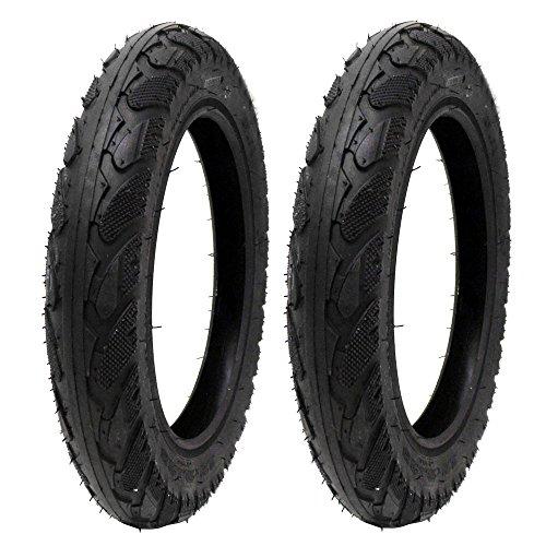 MMG Set of 2 Electric Bike Tires Size 12x2.125 Compatible on Razor, Baja, Schwin stingray, Sun-L, X-treme