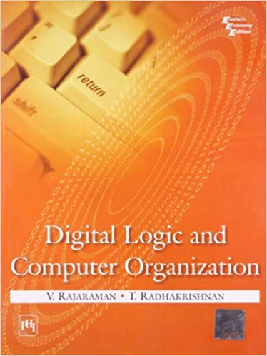 Book Digital Logic and Computer Organization