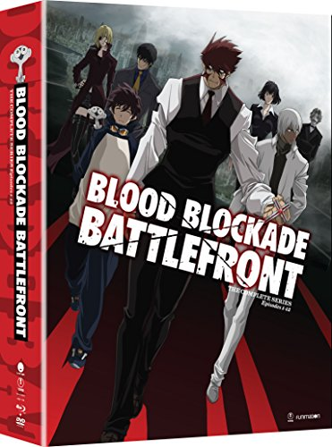 Blood Blockade Battlefront: The Complete Series (Limited Edition Blu-ray/DVD Combo)
