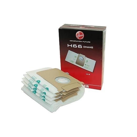 Bolsa de papel H66 35600852 original para aspirador Hoover: Amazon ...
