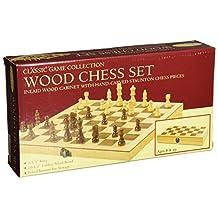 John N. Hansen Classic Wood Chess Set