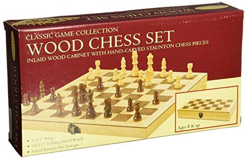 [Classic Wood Chess Set] (Burlwood Backgammon Game Set)