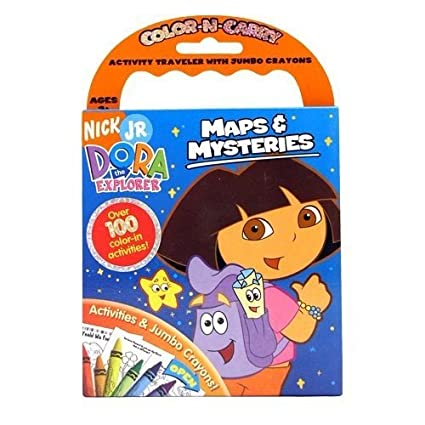 Dora the Explorer Maps & Mysteries Color-N-Carry Dora Maps on youtube i'm the map, circle map thinking map, teletubbies map, dinosaur train map, adventure time map, treasure map, batman map, scroll map, veggietales map, lazytown map, warrior map, pokemon map, titanic map, blues clues map, jake and the neverland map,