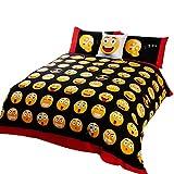 Childrens/Kids Icons Design Reversible Duvet Cover Bedding Set (Full Bed) (Multicoloured)