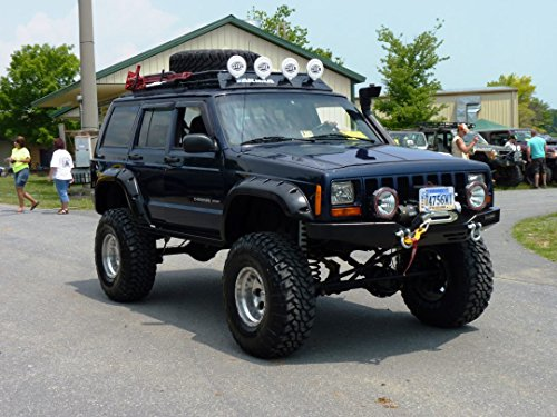 1995-2001 Jeep Cherokee XJ Full Mesh Floor (No Moonroof) Roof Rack