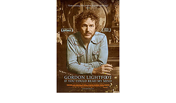 If You Could Read My Mind Movie 2020 PosterA5 A4 A3 A2 A1 Gordon Lightfoot