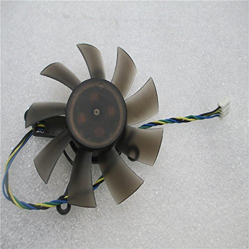 Video Card Fan for ATI HD 5750 5770 39mm 2Pin 12V 0.43AMP FD7015H12S