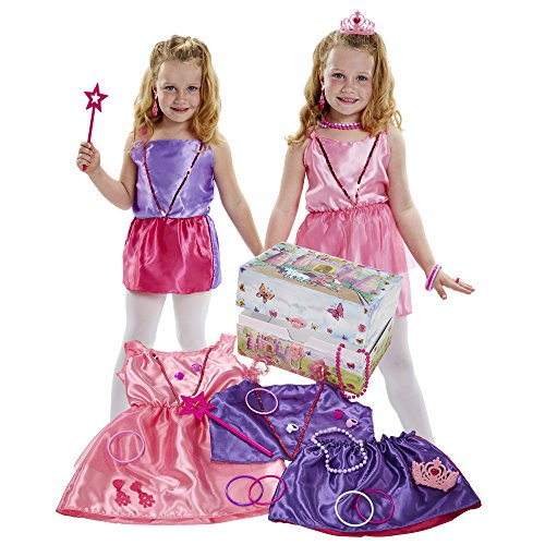 Who's That Girl 21-Piece Dress up Trunk (Girls Dress Costumes Up)