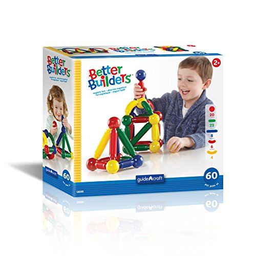 Guidecraft 60 Piece Better Builders Set product image