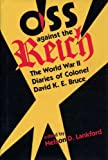 OSS Against the Reich, David K.E. Bruce, 087338427X