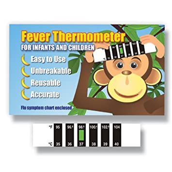 Lamb Feverscan Forehead thermometer with Cold /& Fever Baby Information Pack