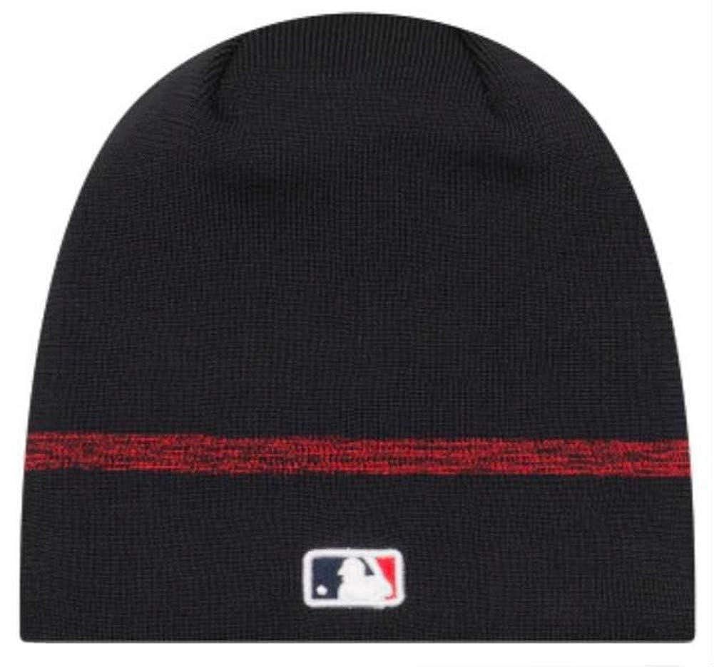 a9325b34d Amazon.com: New Era Authentic Boston Red Sox Club House No-Cuff Sport Knit  MLB Onfield Sideline Beanie Unisex Hat Navy, OSFM: Clothing