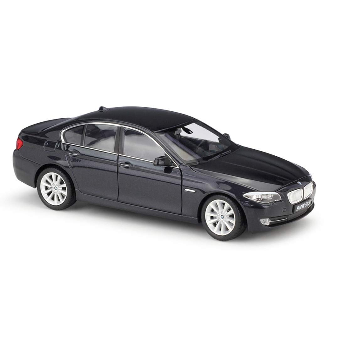 SXHDMY Model Car 535i Sedan Simulation Alloy Static Car Model 1:24 Children's Gifts 19×7x6cm car Model (Color : Black)