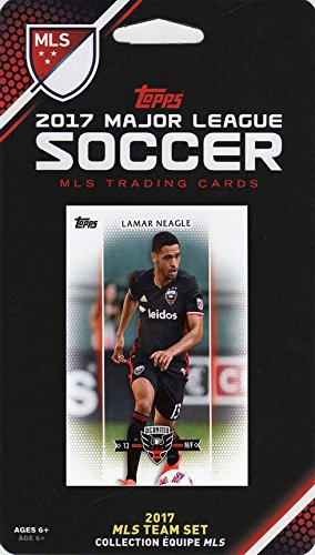 DC United 2017 Topps MLS Soccer Factory Sealed 8 Card Team Set with Lamar Neagle plus