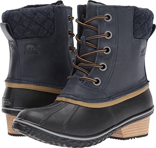 Collegiate Sorel Lace pour Femme Navy Slimpack Boot Glare II Shell r05wqrxT7