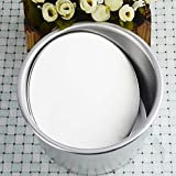 : Non-stick Round Cake Baking Mould Pan with Removable Bottom, 6 inch by IDS