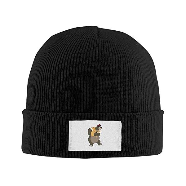 Unisex The Jungle Book Sloth Bear Acrylic Wool Cap Beanie Hat -