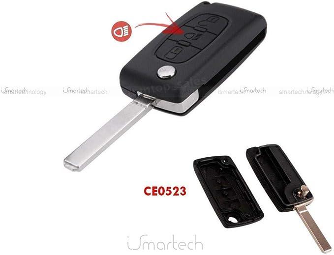 Gehäuse Verkleidung Für Schlüssel Fernbedienung Mit 3 Elektronik