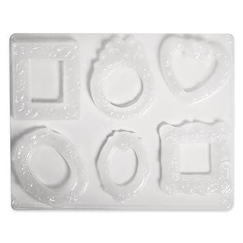 Moldes para el Moldeado de Yeso Resina jabón y Otros Marcos de Foto x6: Amazon.es: Juguetes y juegos