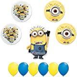DESPICABLE ME 2 MINIONS 11 pc PARTY Extension Balloon Kit