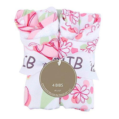 Bouquet 4 Pack Bib - Hula ()