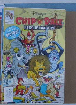 Chip N Dale Rescue Rangers Walt Disney Publications Comic Book #11