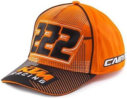 Gorra KTM Racing Team Official 2016 Official Cap Team KTM Tony ...