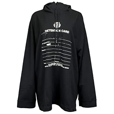 64a54f8873cb PUMA Women s x Fenty by Rihanna Long Sleeve Graphic Hoodie Cotton Black  X-Small