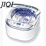 JIQI Digital Ultrasonic Cleaner Wash Bath Tank Baskets WatchGlass Jewelry Mini Denture Ultrasound Cleaning Machine 50W EU
