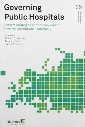 Movement Reform (Governing Public Hospitals: Reform Strategies and the Movement Towards Institutional Autonomy (Observatory Studies))