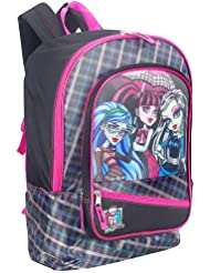 Monster High 16 Inch Monster Peek Backpack - Black