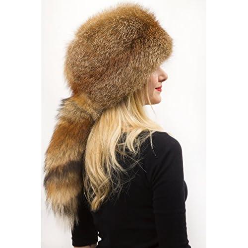 c8d30c87 Red Fox Fur All Fur Hat Saga Furs Detachable Tail [5MjuC1510072 ...