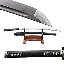 Functional Japanese Katana Musashi Full Tang Folded Steel Sharp Sword Can Customize