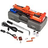 TttopKing 3 Ton Scissor Lift Jacks Electric 6000LBS Electric Car Jack 12V 15A Jack Lifting Car 120-450mm Remote All-in-one