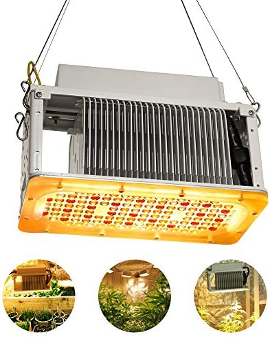 120W LED Grow Light Bulb, Sunlike Full Spectrum Plant Light Bulb 180 LEDs Grow Lamp for Indoor Plants Vegetables and Seedlings, E26 E27 Base Grow Light for Greenhouse, Organic Soil, Hydroponics 2 Pack