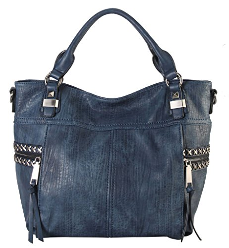 diophy-soft-pu-leather-tote-accented-with-studded-decor-and-zippered-pocket-on-both-side-womens-purs