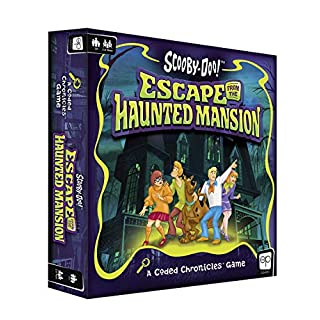 Scooby-Doo: Escape from The Haunted Mansion - A Coded Chronicles Game | Escape Room Game for Kids & Adults | Featuring Your Scooby-Doo Characters and Mysteries | Officially Licensed Escape Room Game