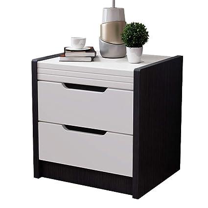 XF Nightstands Bedside Table Simple Modern Black