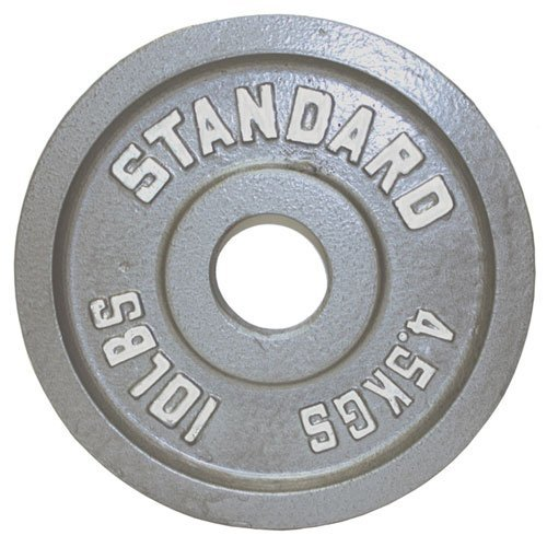 Troy Barbell USA Sports Gray Olympic Weight Plate