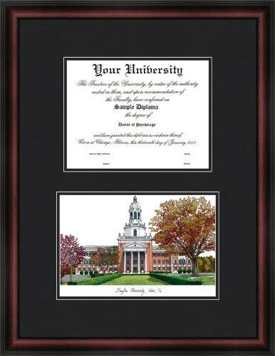 Campus Images TX955D Baylor University Diplomate Diploma Frame, 11