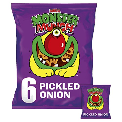 (Walkers MEGA Monster Munch Pickled Onion 6 Pack)