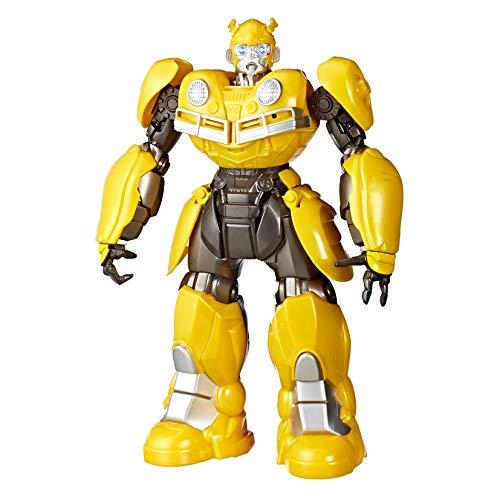 Figura Transformers Movie 6 Dj Bumblebee, Hasbro, Amarelo/Preto