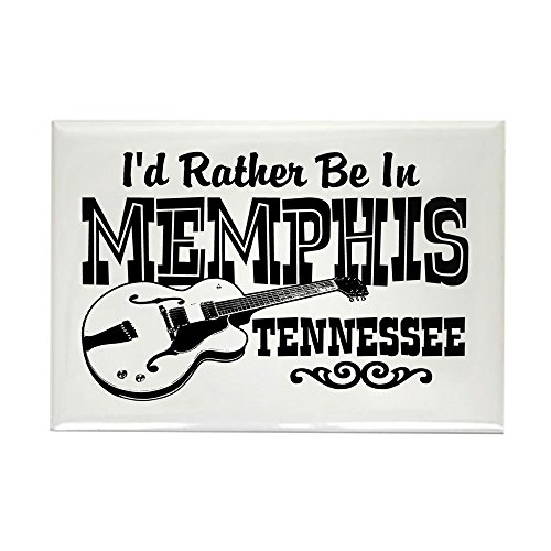 CafePress Memphis Tennessee Rectangle Magnet Rectangle Magnet, 2