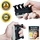 BS Finger Exerciser Hand Strengthener For Arthritis, Carpal Tunnel, Guitar Playing, Rock Climbing, Sports & Trigger Finger Training Review