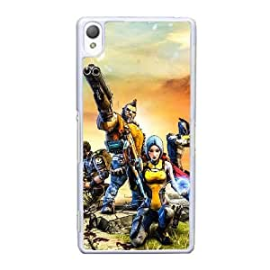 Sony Xperia Z3 Cell Phone Case White Borderlands 2 AS7YD3594503
