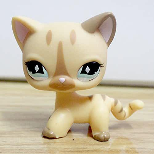 Great gifts store littlest pet shop LPS Pet Short Hair Cat Animal child girl boy figure loose cute lps by new brand