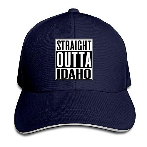 Baseball Straight Outta Idaho Sandwich For Mens (Bar The Shop Idaho Falls)