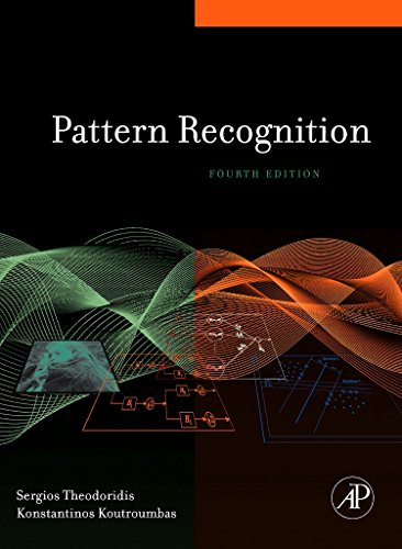 The 5 best pattern recognition sergios theodoridis, konstantinos koutroumbas 2020