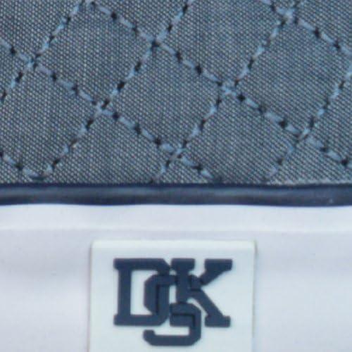 Blue Grey Nicholas Deakins Sensei Mens Canvas Sneakers//Shoes