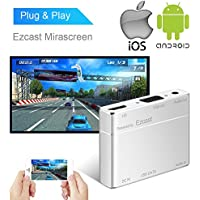 USB to HDMI & VGA Converter for iPhone iPad & Android Smartphones, Boscheng USB to HDMI and VGA Full HD Converter Adapter for iOS Android Smartphones Tablets PC (Powered by EZCast)